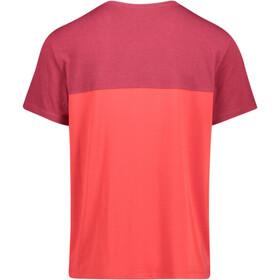 Meru Trikala Camiseta Jersey manga corta Hombre, rhubarb